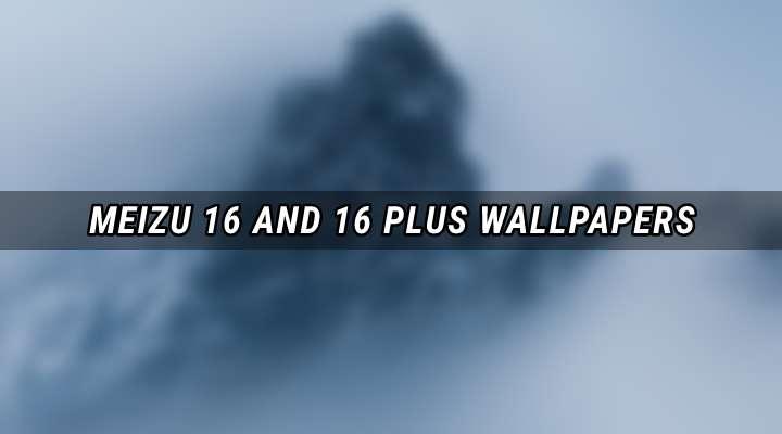 Meizu 16 Plus Stock Wallpapers