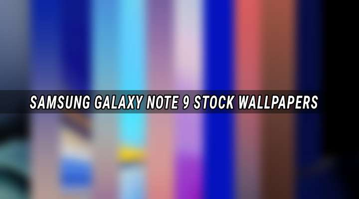 Download Samsung Galaxy Note 9 Wallpapers | DroidViews