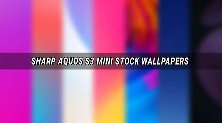 Sharp Aquos S3 Mini Stock Wallpapers