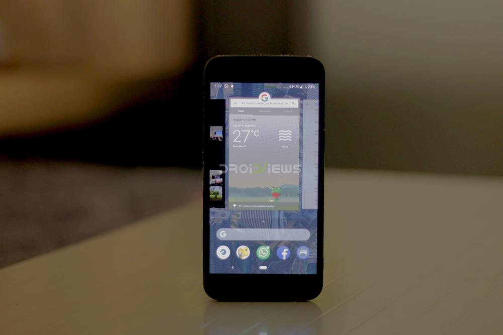 OnePlus 5 Running Android P Beta 4