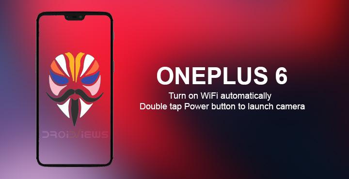 Camera & WiFi on OnePlus 6 & OnePlus 5/5T