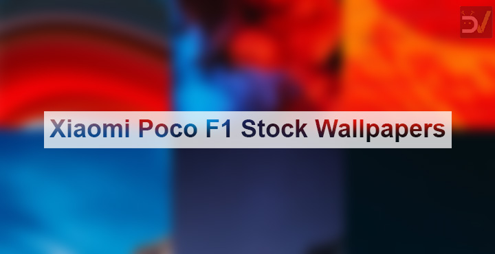 Download Xiaomi Poco F1 Stock Wallpapers