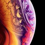 iPhone XS Stock Wallpaper