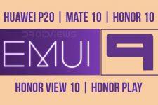 EMUI 9.0 Beta for Huawei P20