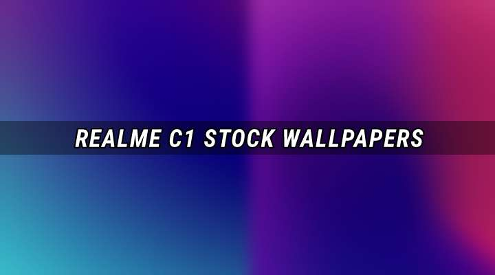 Realme C1 Stock Wallpapers