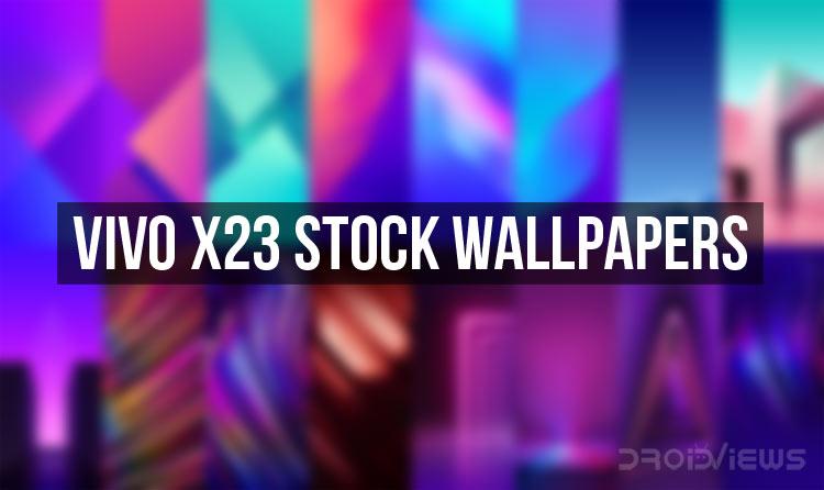 Vivo X23 Stock Wallpapers