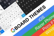 Install iOS, Poco F1, Razer Phone and More Themes for Gboard [Root]