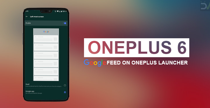 Google Feed with OnePlus Launcher