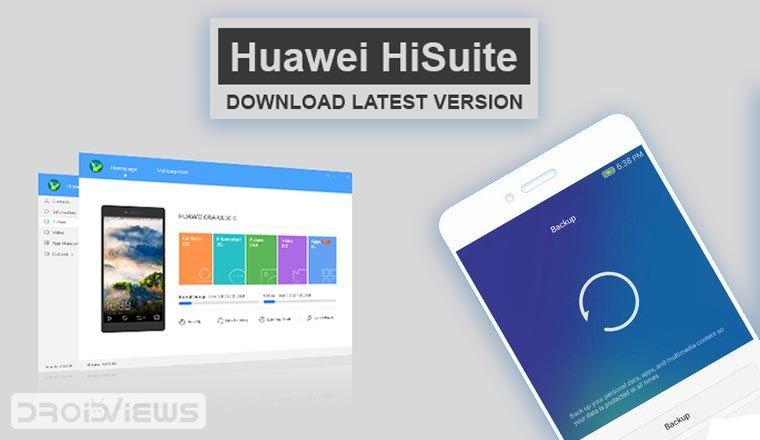 huawei hisuite download