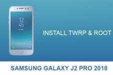 Install TWRP & Root Samsung Galaxy J2 Pro 2018