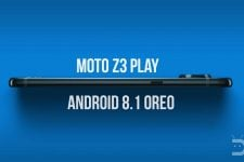Android 8.1 Oreo Firmware on Moto Z3 Play