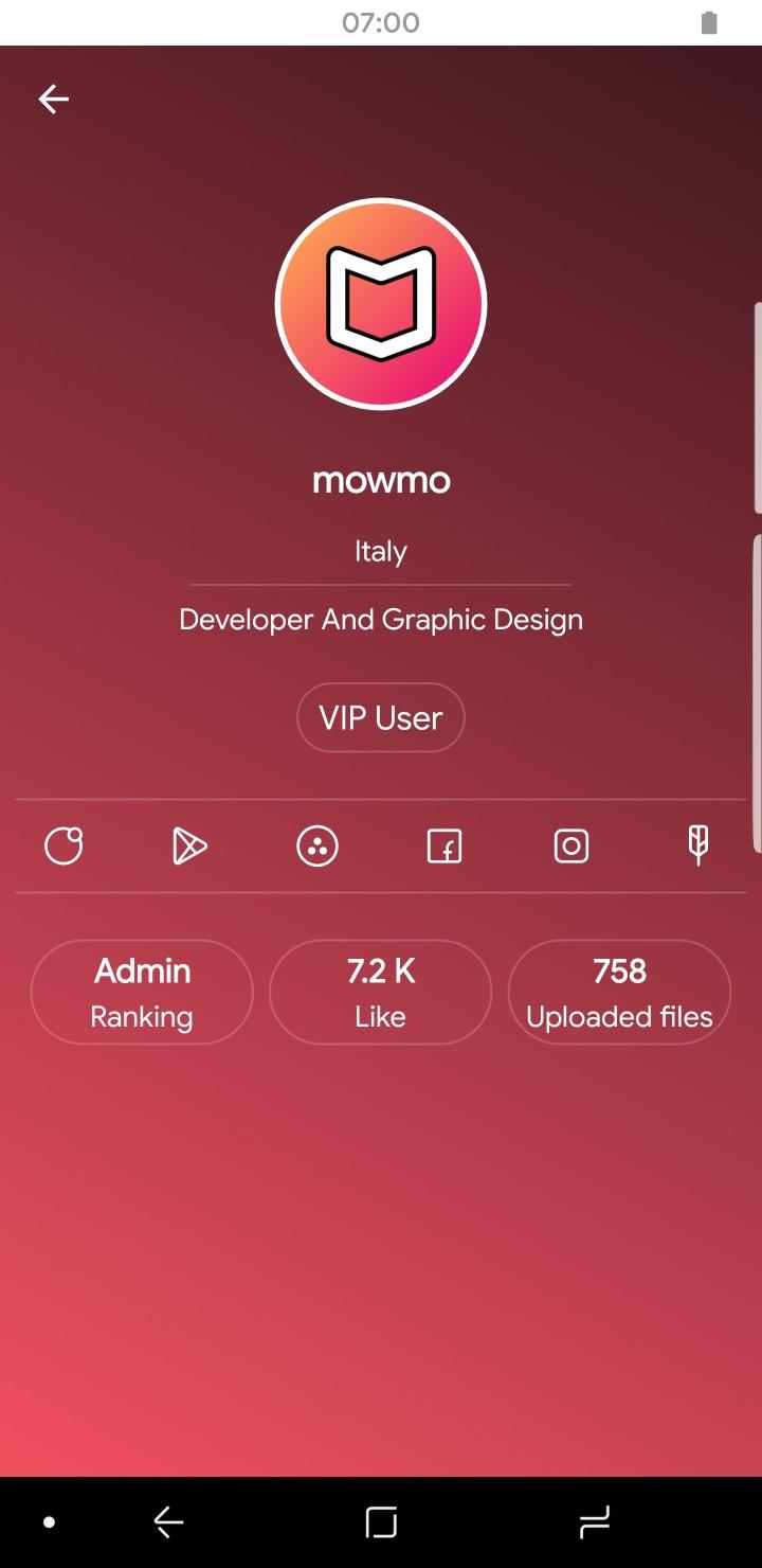 Creative App Profile