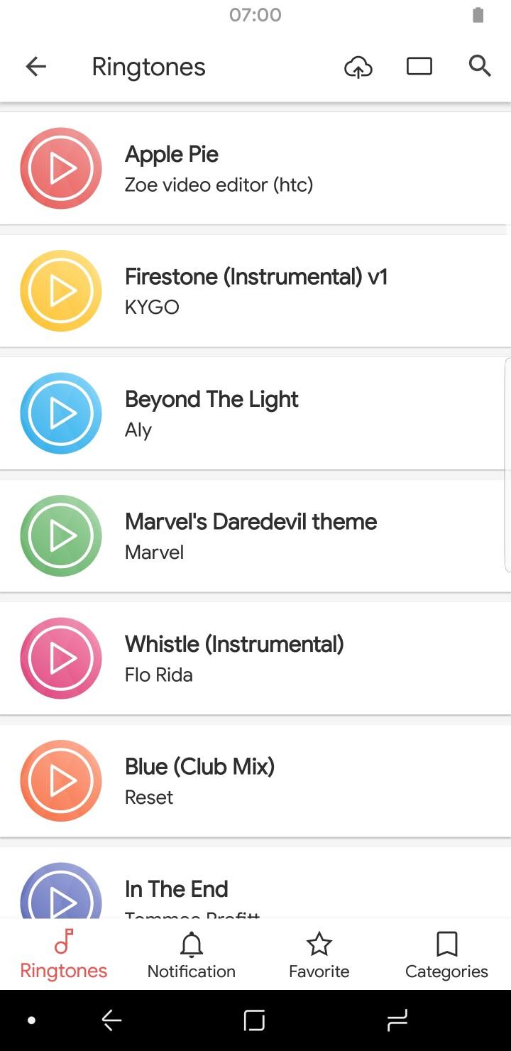 Creative App Sounds Ringtones