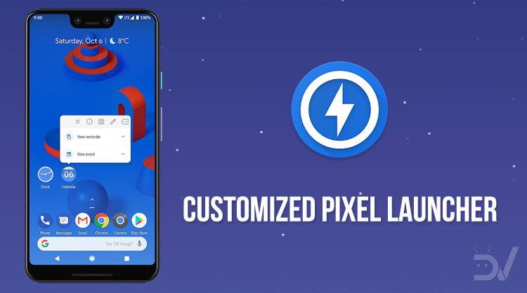 Customized Pixel Launcher: Just Like Pixel Launcher But Better