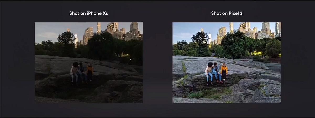Night Sight mode on Pixel 3
