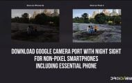 Google Camera Port with Night Sight