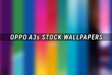 Oppo A3s Stock Wallpapers