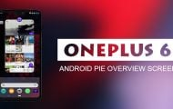 Get Stock Android Pie Overview Screen On OnePlus 6 With Lawnchair [Root]