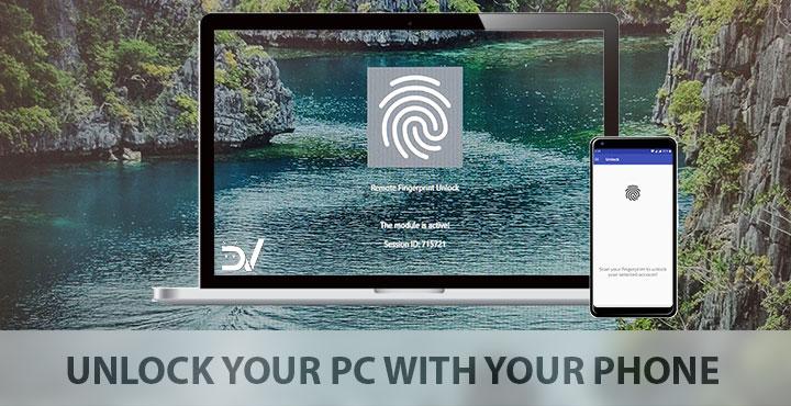 Unlock Windows PC Using Android