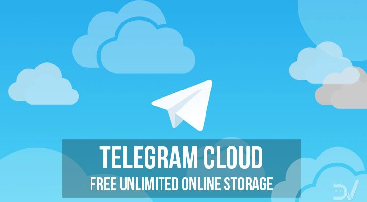 Telegram Cloud storage
