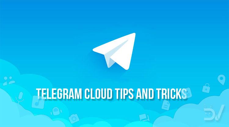 telegram cloud tips