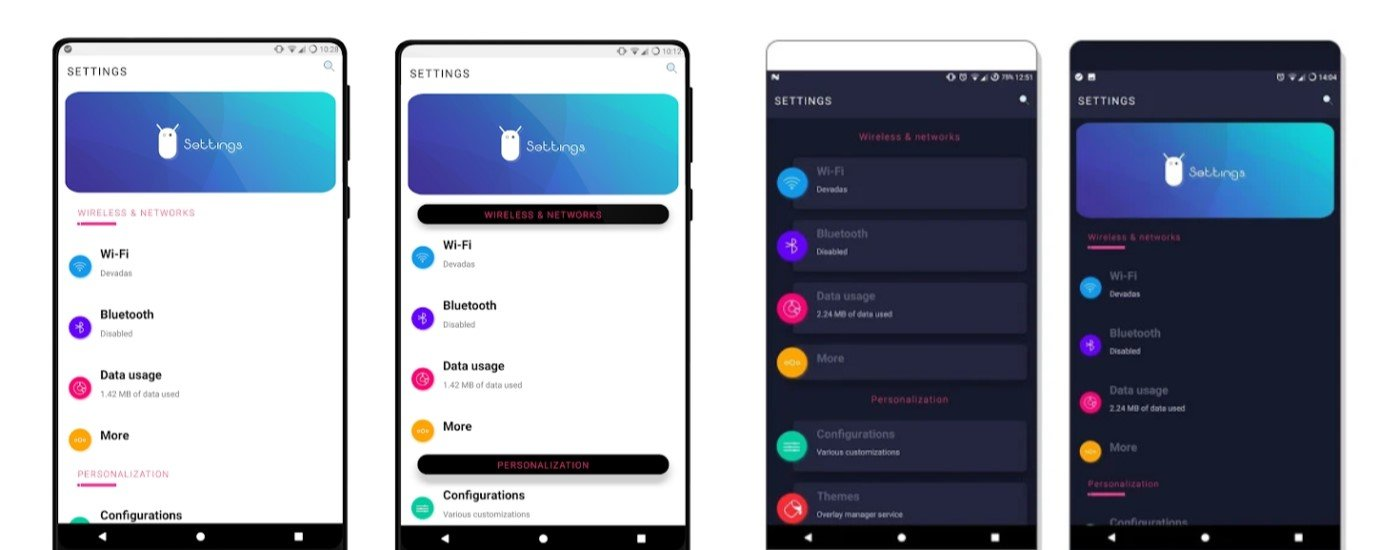 10 Best Substratum Themes Fresh UI
