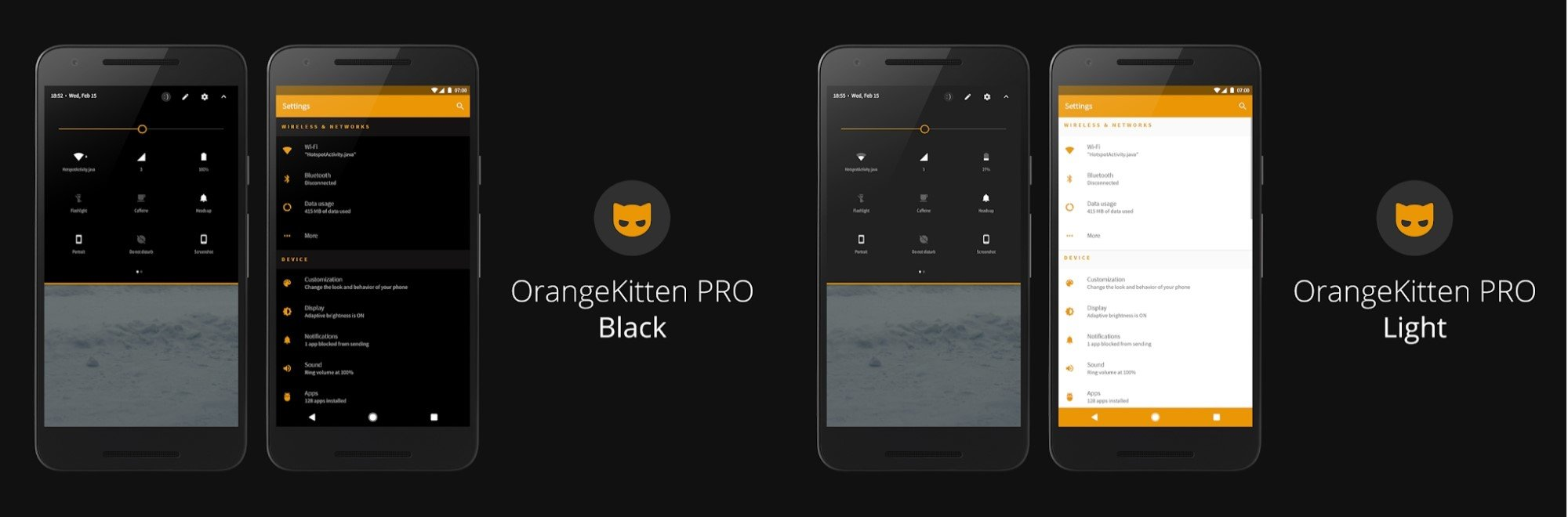 10 Best Substratum Themes Orange Kitten