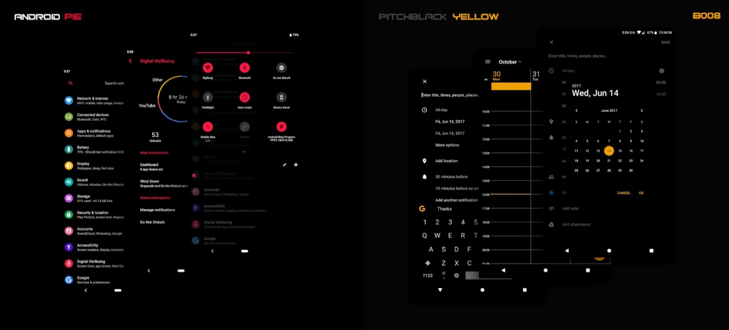 10 Best Substratum Themes Pitch Black