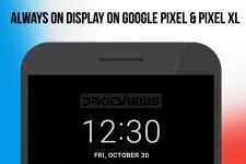 Always on Display on Google Pixel and Pixel XL