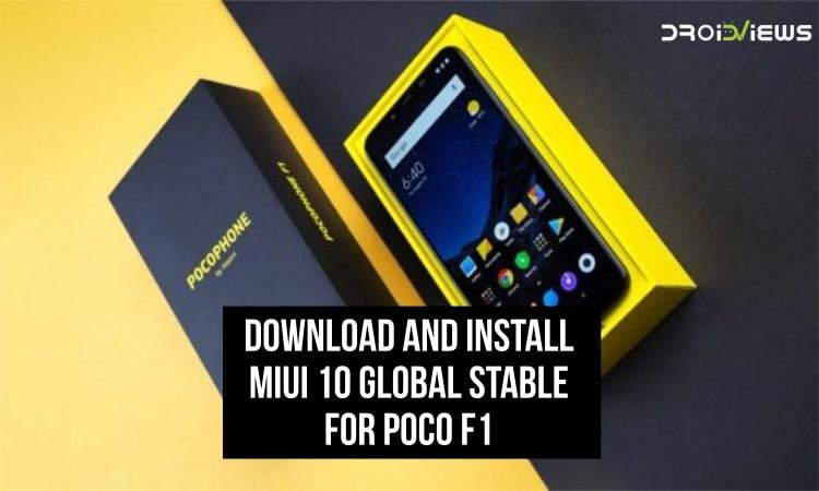 MIUI 10 for Poco F1