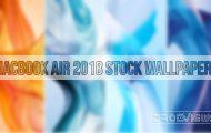 MacBook Air 2018 Stock Wallpapers