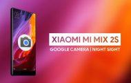 Night Sight Port on Mi Mix 2S