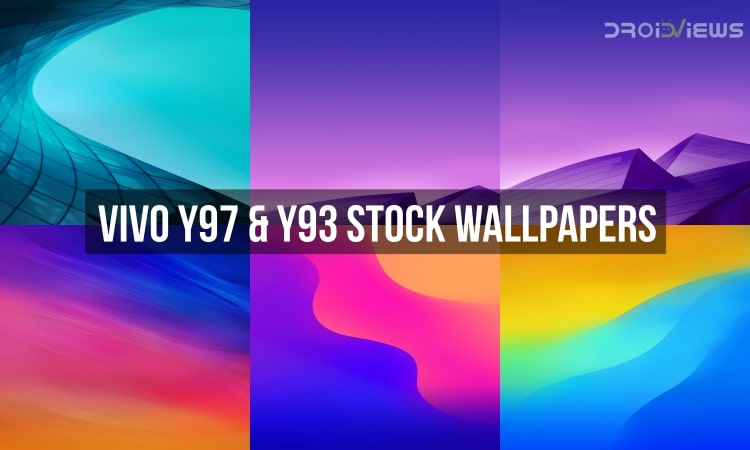 Vivo Y97 Stock Wallpapers