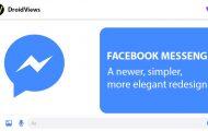 Facebook Messenger 4 Redesign: Simpler, Elegant & Fully functional
