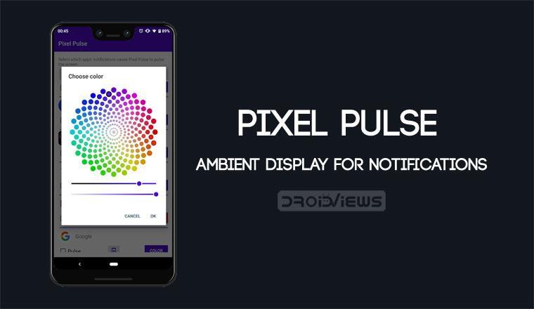Pixel Pulse Brings Pulsing Ambient Display for Notifications