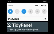 Clean up Your Notification Panel with TidyPanel