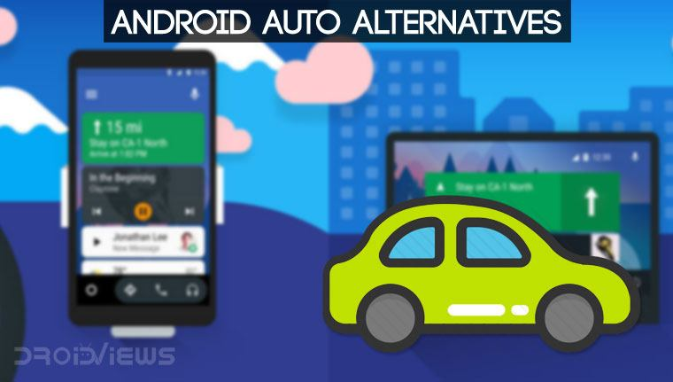 7 Best Android Auto Alternatives to Use in Your Car | DroidViews