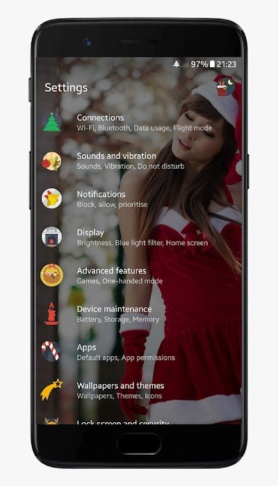 Christmas Substratum Theme 7