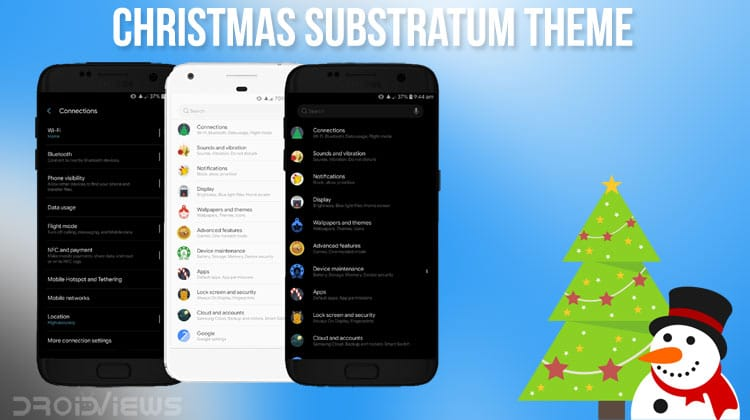 Christmas Substratum Theme