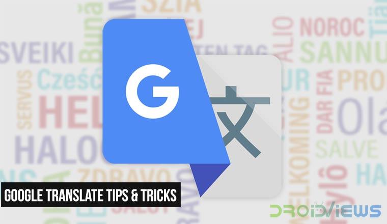 Google Translate Tips