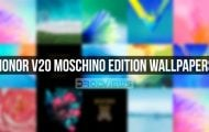 honor v20 moschino stock wallpapers