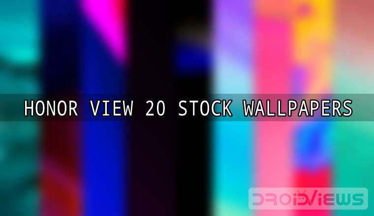 Download Honor View 20 (V20) Stock Wallpapers (QHD+)