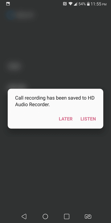 Enable Call Recording on LG V30