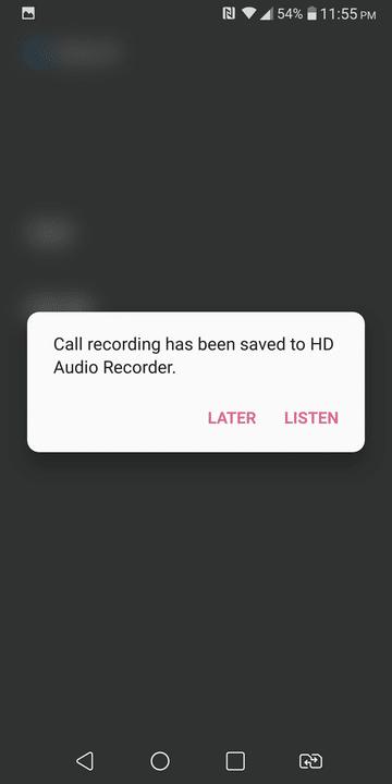 Ativar gravação de chamadas no LG V30