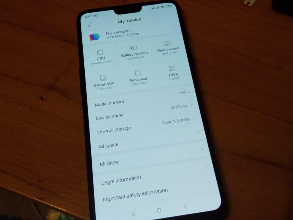 MIUI 10 on OnePlus 6