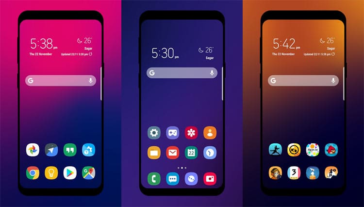 One UI Icon Pack: Inspired by Samsung One UI 9 0 | DroidViews