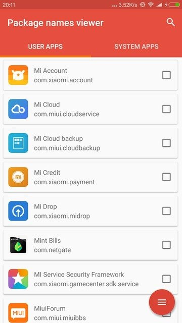 Find Out Android App Package Name