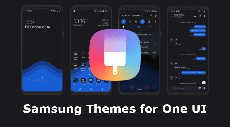 Samsung Themes APK for One UI Beta