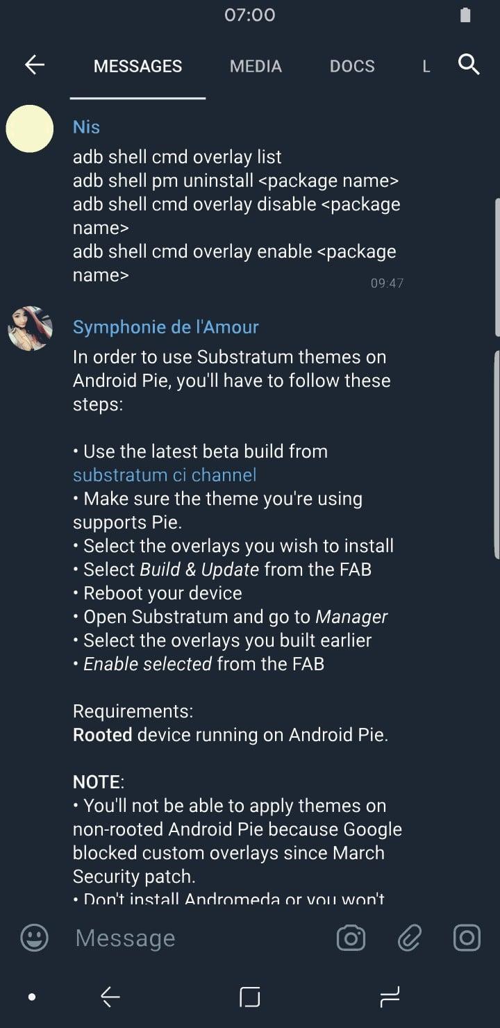 Telegram Theme Creator Telegram X Messages