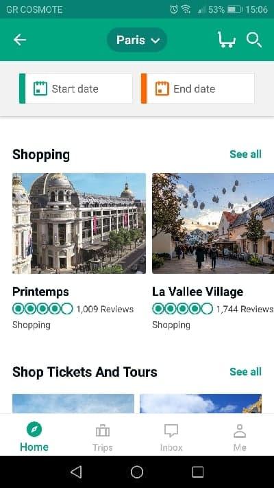 TripAdvisor places to visit